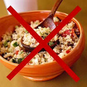 no quinoa